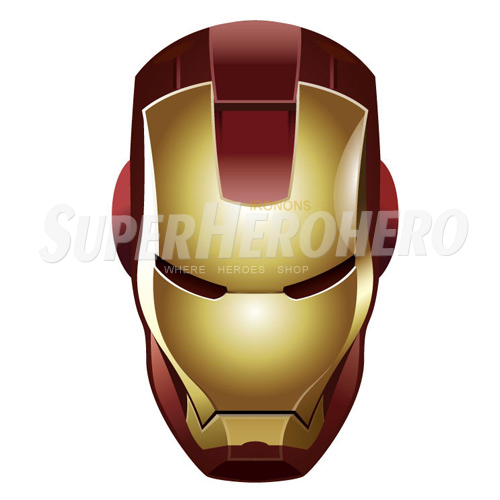 Designs Iron Man Iron on Transfers (Wall & Car Stickers) No.4591